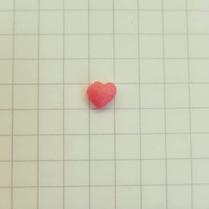 Imperfect nerd heart. Photo: Amy Carlton